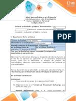 1.Guia de actividades y Rúbrica de evaluación - Unidad 1 - Paso 2 - Elaboración proceso de reclutamiento, selección, inducción y evaluación del talento humano.docx