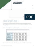 Combinar BUSCARV y COINCIDIR • Excel Total