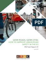 How to make Urban Roads Safer - EU