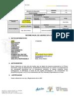 INFORME ANUAL DE IE FINALIZACION DEL AÑO ESCOLAR 2019-2020