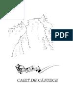 Caiet de Cantece Rom (Chitara)