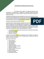 LECTURA MÉTODO DESCRIPCIÓN DE OPERACIONES EDUCATIVAS