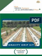 Gravity drip kit brochure