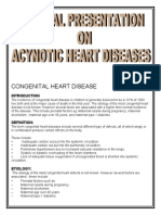 acynotic heart diseases