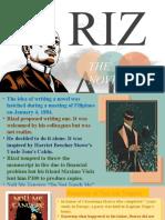 Rizal National Hero Life and works series