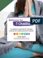 Guía del entrenamiento - Balancea tus 7 Chakras (Editable).pdf