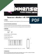 Immense Lr14 c Alkaline Battery -The Heavenly Power battery | Alkaline Battery