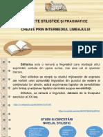 Aspecte stilistice şi pragmatice create prin intermediul limbajului [Resursă electronică]
