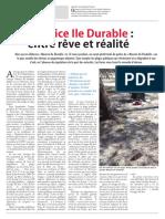 Maurice Ile Durable