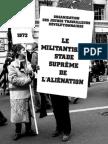 Le miLitantisme, stade suprême de L'aLiénation