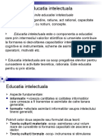 Curs V_ Educatia Intelectuala