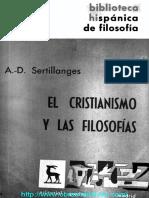 EL CRISTIANISMO Y LAS FILOSOFIAS 01 SERTILLANGES OP.pdf