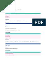 Understanding Text Organization QUIZ