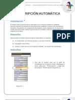 Manual Preinscripcion