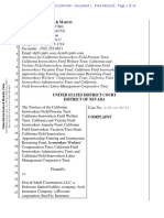 The Trustees of the California v Derr Isbell Construction LLC Nvdce-20-00716 0001.0
