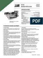 3516C-2525-bKW Performance Data