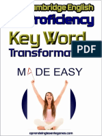 C2 Proficiency - Key Word Transformation Made Easy (Preview)