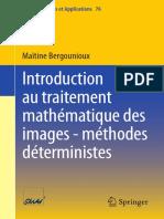Introduction au traitement mathématique des images