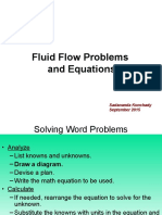 Fluidfloweqnproblems