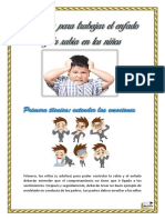 Técnicas para trabajar el enfado y la rabia en los niños pdf