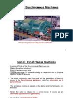 Unit 4 Synch Machines