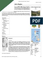 Cordillera Administrative Region - Wikipedia