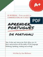 Aprender Português (de Portugal) e-Book