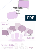 Variedades de la lengua (1)