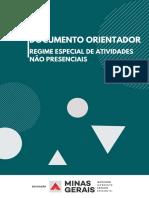 DOCUMENTO ORIENTADOR REGIME ESPECIAL DE ATIVIDADES NÃO PRESENCIAIS Versão 2