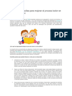 Estrategias sencillas para mejorar el proceso lector en niños con TDAH