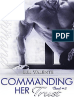 (Trilogia Under his Command #2) Commanding her Trust - Lili Valente