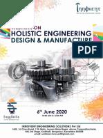 Webinar 6th June - Design and Manufacture