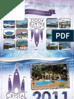 Crystal Palace Pools 2011 Calendar