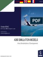 A380 SIMULATION MODELS