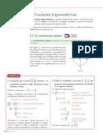 3 Circunferencia unitaria y razones trigonométricas