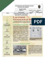 Las Crisis  Financieras Mundiales (1929)