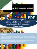 Características de La Población Nacional (Demografía I)