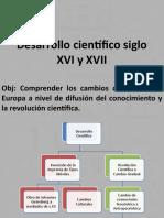 Desarrollo Científico Siglo XVI y XVII (Octavo)
