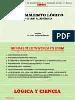 1. PPT-LÓGICA Y CIENCIA-Prof. Félix Gutierrez Abanto