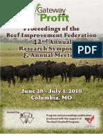 Bif 2010 Proceedings