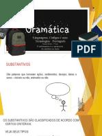 O substantivo e sua construção de sentidos nos textos..pptx