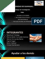 psicologia diapositivas grupo 2 ayudar a los demas