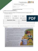 evaluacion formativa unidad 1 lenguaje
