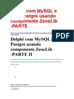 Delphi com MySQL e