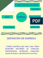 Tema 05 - ELEMENTOS DE LA EMPRESA