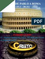 12 viaje de Pablo a Roma cap. 12