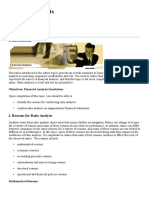 Financial Analysis Limitations