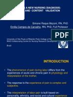 labor pain- diagnosis