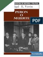 Peron o muerte - Silvia Sigal.pdf