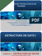 Capitulo I_Estructura de datos